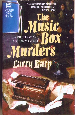 Music Box Murders Paperback Cover